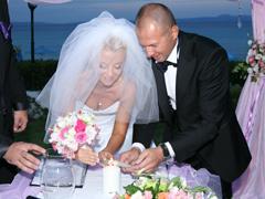 «С'агапо...»* или  свадьба в Греции.