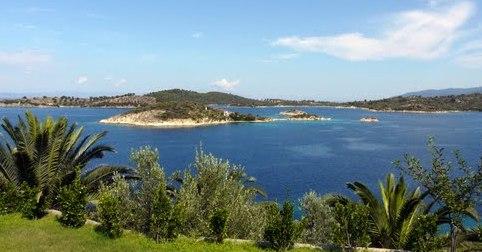 Греция Халкидики острова