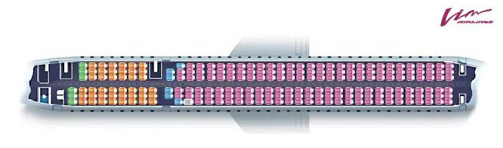 Боинг B757-200 - схема