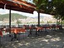 Кафе на берегу озера. Касторья