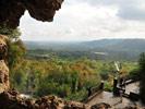 Вид из пещеры Греции